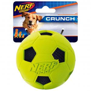NERF  3in Soccer Crunch Ball Green