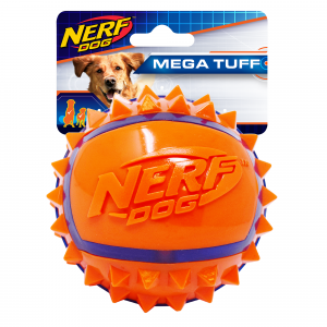 NERF  3.5in Tpr Spike Ball Orange/blue