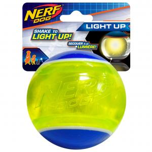 NERF  3.25in Led Blaze Tennis Ball Blue/green