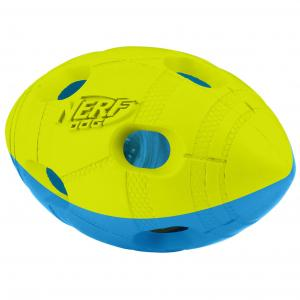 NERF  5.4in Led Bash Football Blue/green