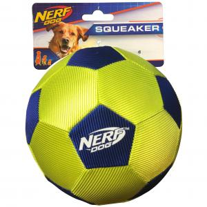 NERF  5in Airtuff Soccer Ball Blue/green