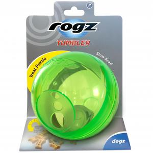 Rogz Tumbler Treat Dispenser Lime