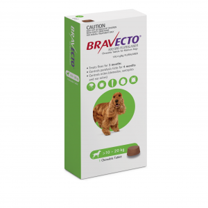 BRAVECTO  Chew Dog M >10-20kg 3 Month Pack 1 pack