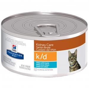 Hill's VET Hill's Prescription Diet K/d Kidney Care With Tuna Canned Cat Food - 156g