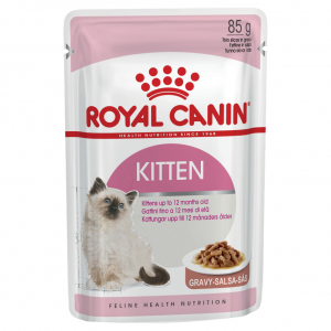 Royal Canin Kitten Instinctive in Gravy - 85gm