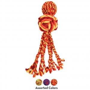 KONG  Wubba Weaves With Rope X-large