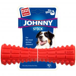 GIGWI  Johny Stick Treat Dispenser Red