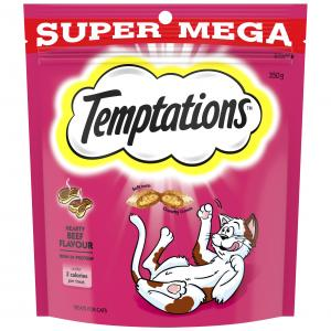 TEMPTATIONS  Hearty Beef Cat Treat 350g