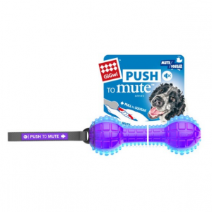 GIGWI  Dumbell Ptm Trans Purple/blue