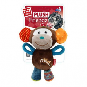 GIGWI  Plush Friendz Multi Colour Monkey