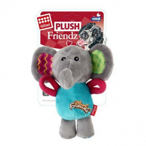 GIGWI  Plush Friendz Multicolour Elephant