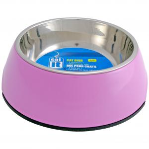 Catit 2 In 1 - Durable Cat Bowl 350ml