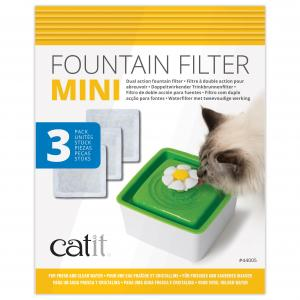 Catit  2.0 Senses Flower Water Fountain Mini Cartridge 3 Pack