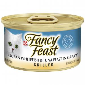 Fancy Feast  Grilled Ocean Whitefish & Tuna Feast In Gravy 85g
