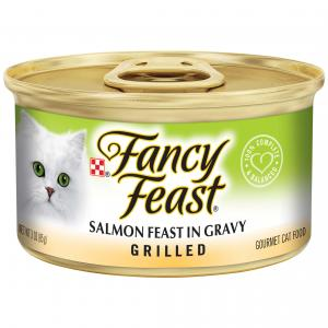 Fancy Feast  Grilled Salmon Feast In Gravy 85g
