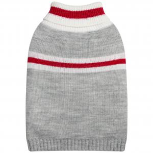 DGG Grey With Stripes Knit Medium