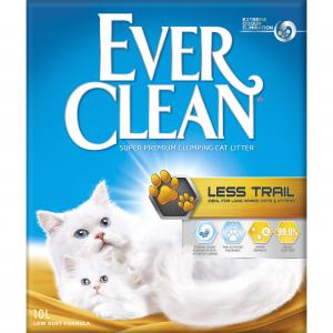 EVER CLEAN  Less Trail Clumping Cat Litter 10l
