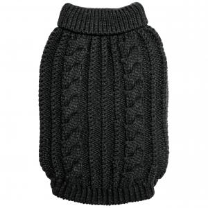 DGG Black Chunky Knit Large