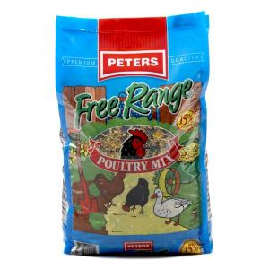Peters  Free Range Poultry Mix 5kg