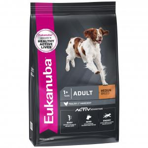 Eukanuba Maintenance Medium Breed Adult Chicken Dry Dog Food