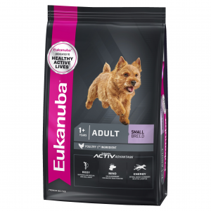 Eukanuba  Small Breed Adult Chicken Dry Dog Food