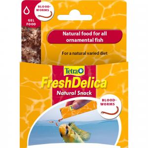 Tetra  Freshdelica Bloodworms 48g