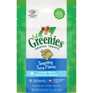Greenies  Feline Dental Treats Tempting Tuna 60g 60g