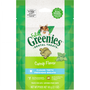 Greenies  Feline Dental Treats Catnip 60g 60g