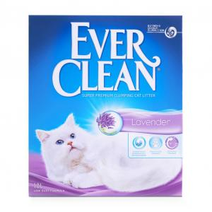 EVER CLEAN  Lavender Scented Clumping Cat Litter 10l