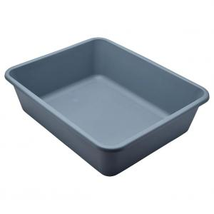 LEXI & ME  Medium Cool Grey Rectangle Litter Tray