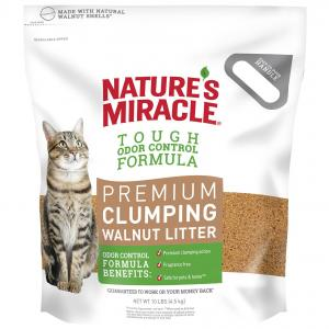 Natures Miracle Nm Premium Walnut Clumping Litter 3/10lb (4.5kg)