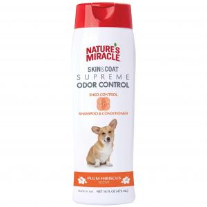 Natures Miracle Nature's Miracle Skin/coat Odor/shed Control Hibiscus