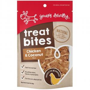 Yours Droolly  Chicken & Coconut Bites Dog Treats 100g