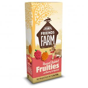TINY FRIENDS FARM Tff Rabbit Fruities With Cherry & Apricot 120g