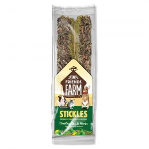 TINY FRIENDS FARM Tff Stickles Timothy Hay & Herbs100g
