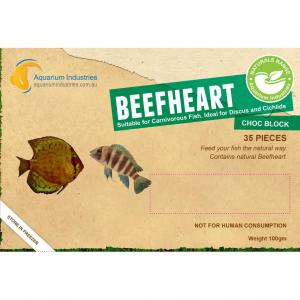 Aquarium Industries Ai Nat Beefheart - Frozen 100gm Choc Block