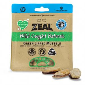 ZEAL FRN Zeal Green Lipped Mussels 50g