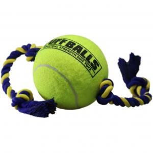 "Petsport 6"" Mega Tuff Ball Tug With Rope"
