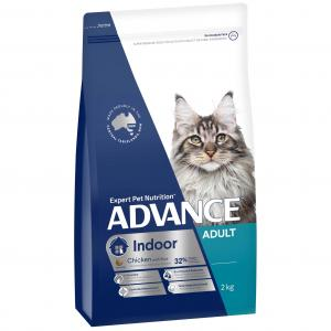 Advance Indoor Adult Chicken Dry Cat Food 2kg