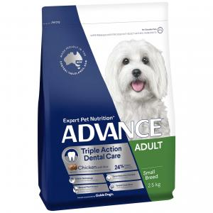 Advance  Dental Care Toy & Small Breed Adult Dry Dog Food 2.5kg