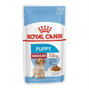 Royal Canin  Medium Puppy Wet Dog Food 140g