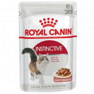 Royal Canin Instinctive Adult In Gravy Wet Cat Food 85G