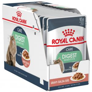 Royal Canin Sensitive Digestion Adult In Gravy Wet Cat Food 85G