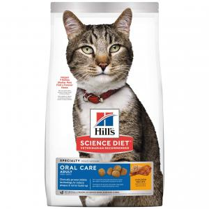 Hill's Science Diet Oral Care Adult Dry Cat Food