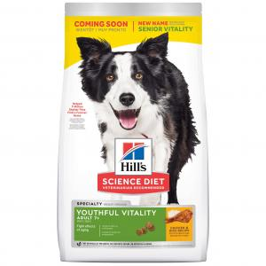 Hill's Science Diet Youthful Vitality Senior Chicken Dry Dog Food