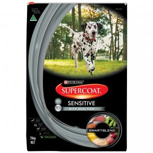 Supercoat Smartblend Sensitive Adult Fish Dry Dog Food