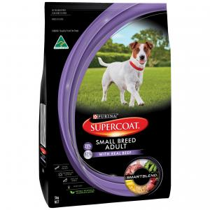 Supercoat Smartblend Small Breed Beef Dry Dog Food