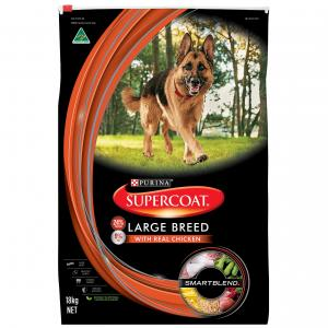 Supercoat Smartblend Large Breed Adult Chicken Dry Dog Food