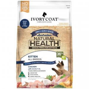 Ivory Coat Kitten Chicken Dry Cat Food 3kg