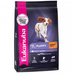 Eukanuba  Puppy Chicken Dry Dog Food
